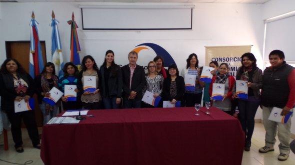 Emprendedores de Chajar� recibieron microcr�ditos