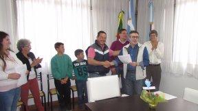 Emprendedores de San Salvador recibieron microcr�ditos por m�s de 50 mil pesos