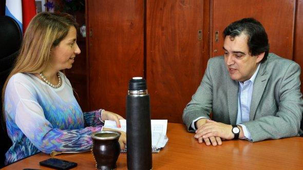 Desarrollo Social coordina acciones para el departamento Diamante