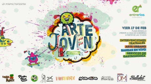 Este viernes se desarrollará la primera edición del festival Arte Joven