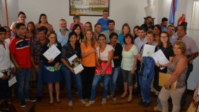 Instituciones del departamento Tala recibieron aportes para fomentar el trabajo comunitario