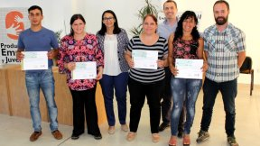 El gobierno provincial fortalece a los emprendedores del departamento Colón