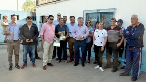 El gobierno provincial entregó aportes a clubes de Diamante