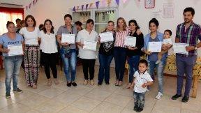 Mujeres finalizaron un taller de economía social