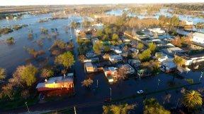 La provincia articula acciones para la asistencia de evacuados de Gualeguaychú